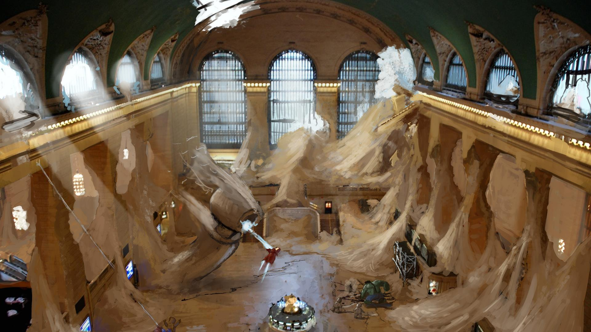 Sand Central Station in LEGO Marvel Super Heroes